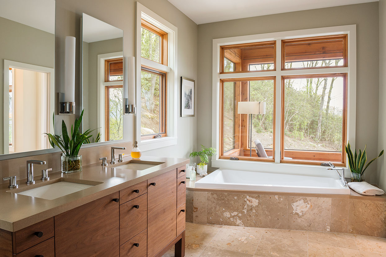 Design interior bathroom - Butler Mountain Alchemy Design Studio