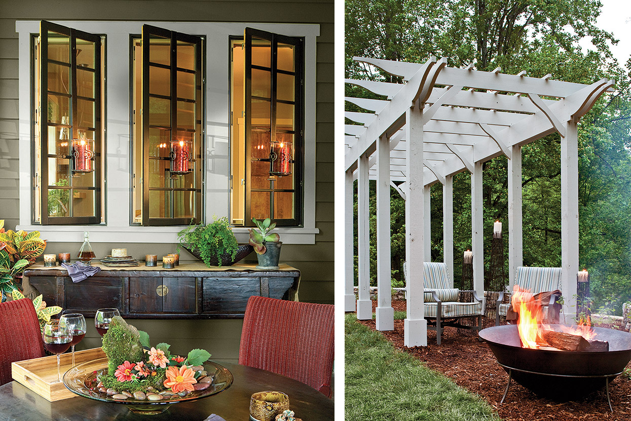Southern Living Idea Home Porch
